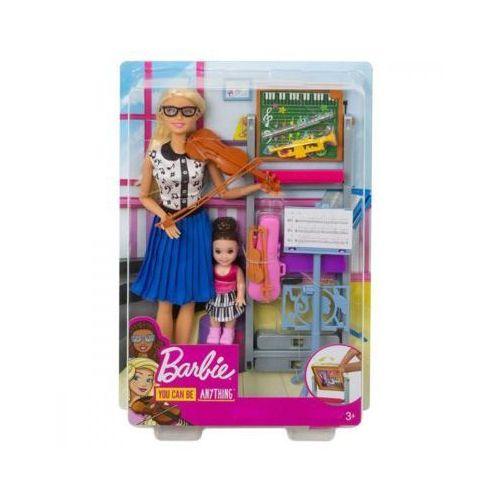 Lalka barbie nauczycielka muzyki + gratis na dzień dziecka!! marki Mattel