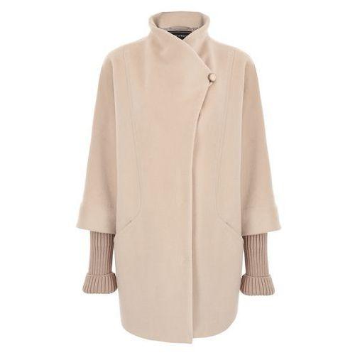 Płaszcz 6501 (Rozmiar: 40, Kolor: beżowy), kolor beżowy