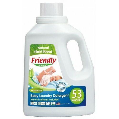 Friendly organic , płyn do prania ubranek dziecięcych, bezzapachowy, 1567 ml, 53 prania