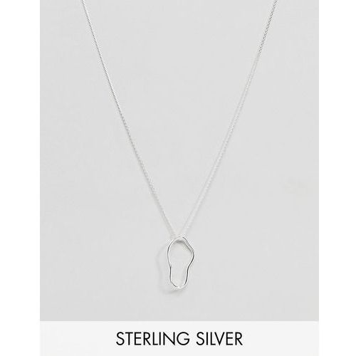 Weekday Sterling Silver Blob Necklace - Silver