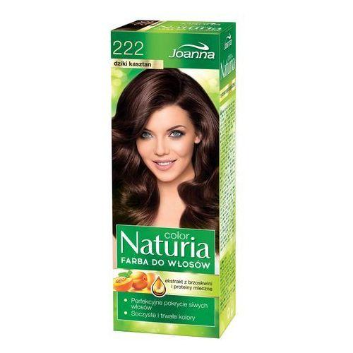 Joanna naturia color farba do włosów dziki kasztan nr 222 (5901018056131)