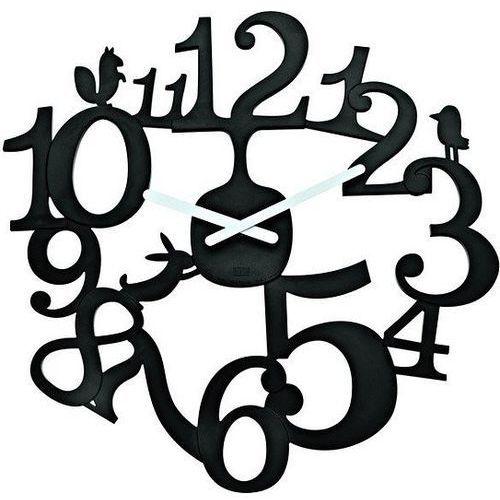 Zegar ścienny Pi:P czarny (4002942188224)