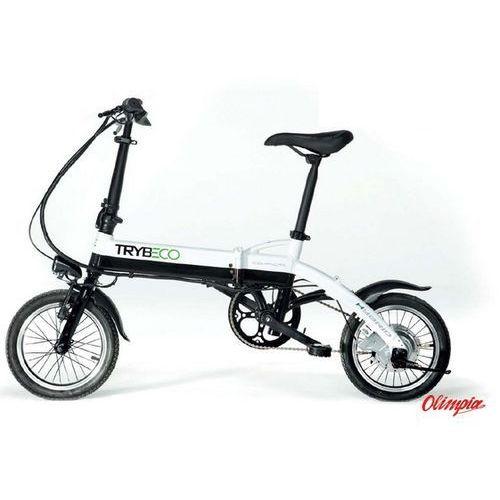 Rower elektryczny Trybeco Compacta 14 Czarny/Biały 2016