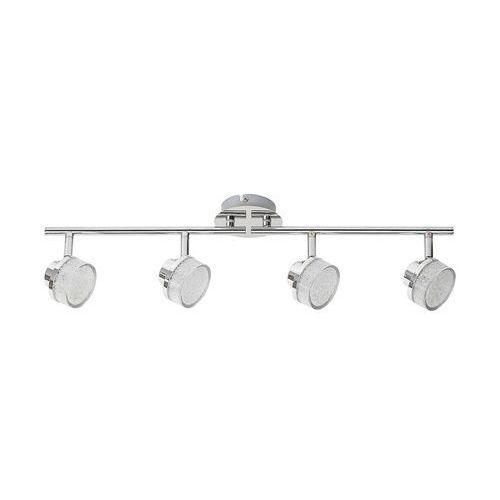 Rabalux - LED Lampa sufitowa punktowa 4xLED/5W/230V, kolor Srebrny