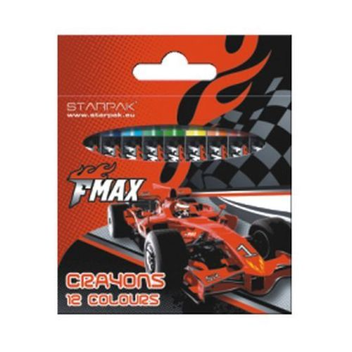 Kredki woskowe STARPAK 12 kolorów FMax