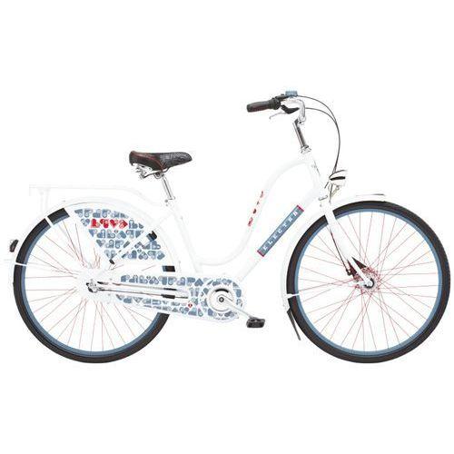 Rower  amsterdam fashion 3i bieg (28) biały love 293104 marki Electra