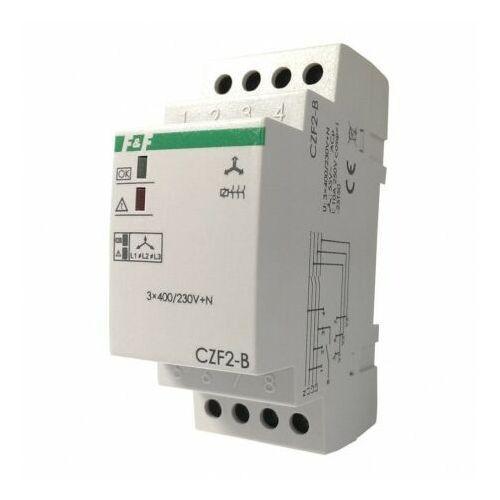F&f Przekaźnik zaniku i asymetrii faz czf2-b kontrola styków 230v max. 10a 3065