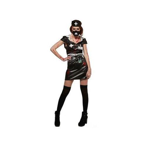 Kostium Czarna Krwawa Pielęgniarka dla kobiety - Roz. XS, 1 rozmiar