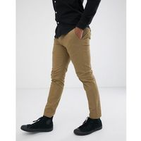 skinny chinos in tan - tan, Burton menswear