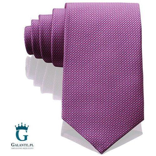 Różowy włoski krawat jedwabny 14805/2 marki Arcuri