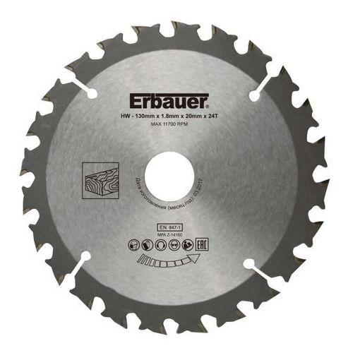 Tarcza do drewna Erbauer 130 x 20/16 mm 24T (3663602812791)