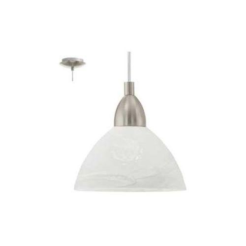 EGLO 87054 - Lampa wisząca BRENDA 1xE27/60W pomarańczowy