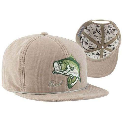 czapka z daszkiem COAL - The Wilderness SP Khaki (Bass) (01) rozmiar: OS, kolor zielony