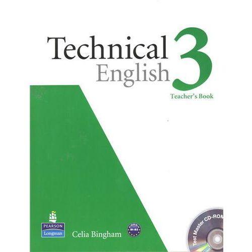 Technical English 3. Teacher's Book (Książka nauczyciela) + CD (opr. miękka)