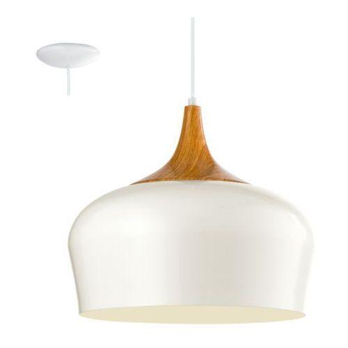 lampa wisząca OBREGON kremowa, EGLO 95383
