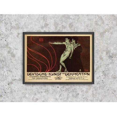 Vintageposteria.pl Plakat vintage plakat vintage sztuka niemiecka i dekoracje