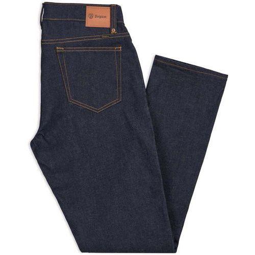 spodnie BRIXTON - Reserve 5-Pkt Denim Pant Raw Indigo (RWIDG) rozmiar: 34X32