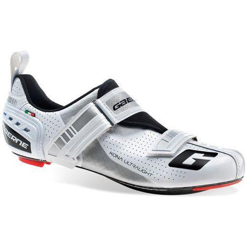 carbon g.kona buty mężczyźni biały 45 2018 triathlonowe buty kolarskie marki Gaerne