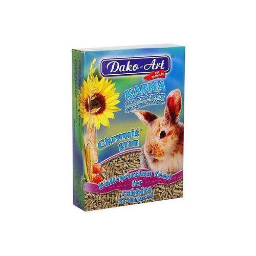 DAKO-ART Chrumiś Gran - granulowany pokarm dla królików 25kg (5906554103158)