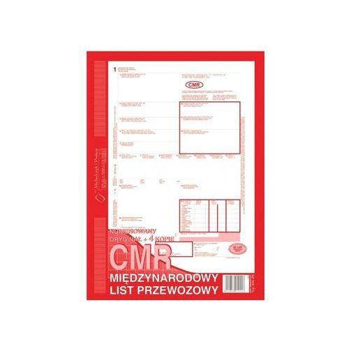 Druk cmr międzynarodowy list przewozowy a4 (o+4k) 80 kartek 800-2 marki Michalczyk i prokop
