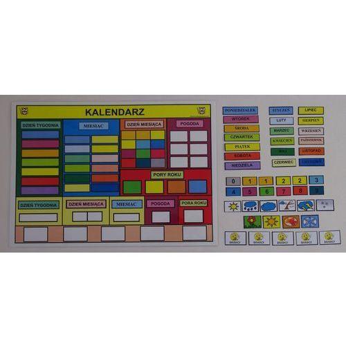 Bystra sowa Mój pierwszy kalendarz kolorowy