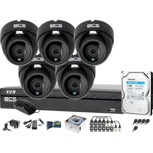 5x BCS-DMQ2203IR3-G BCS-XVR0801-III Monitoring firmy sklepu przedszkola szkoły, ZM13917