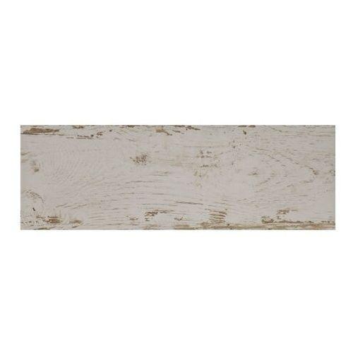 Ceramika Paradyż Gres szkliwiony Alcantara biały 20 cm x 60 cm imitacja drewna, Ceramika Paradyż_3153145