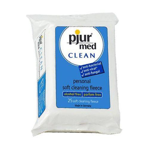 Chusteczki czyszczące - Pjur MED CLEAN Fleece, PJ003H