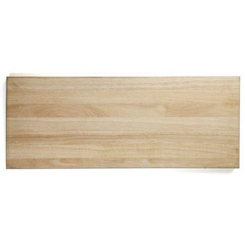 Deska z naturalnego drewna do krojenia, wymiary 75x30x4 cm, EXXENT 78514