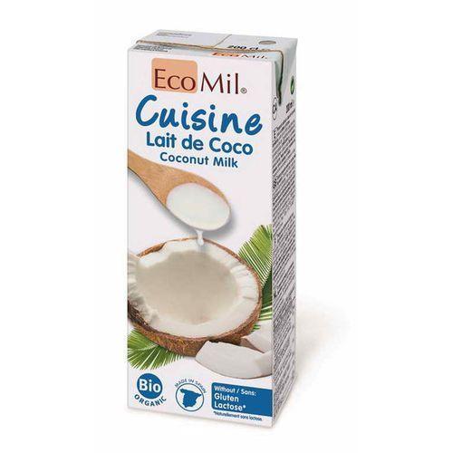 Mleczko kokosowe bio 200 ml - marki Ecomil