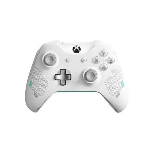 Microsoft Xbox One Kontroler bezprzewodowy Sports (biały), WL3-00083