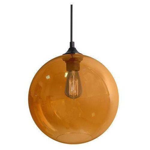CANDELLUX EDISON 31-21397 Lampa wisząca 25 1x60W E27 bursztynowy + żarówka, 31-28259