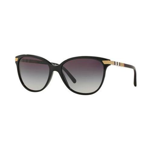 Burberry Okulary słoneczne be4216f asian fit 30018g