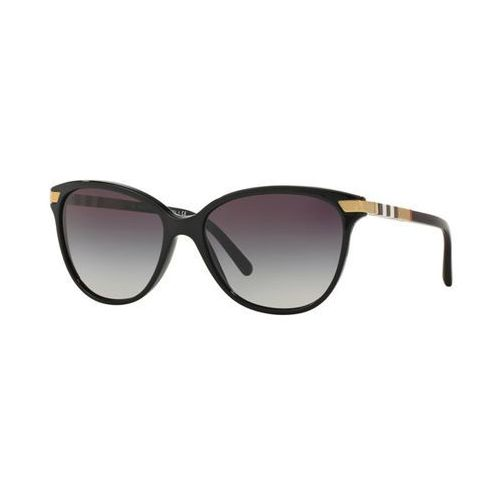 Okulary Słoneczne Burberry BE4216F Asian Fit 30018G, kolor żółty