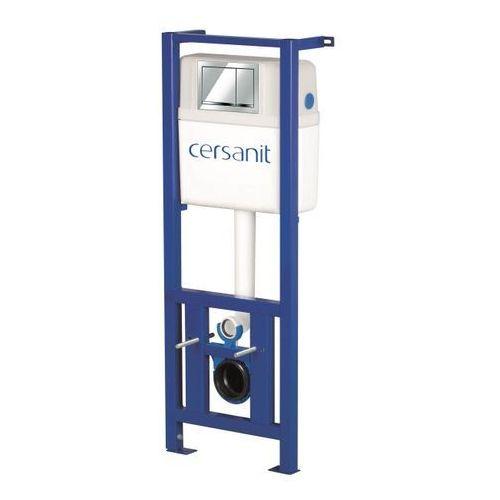 Cersanit Stelaż podtynkowy wc enzo przycisk chrom (5902115779121)