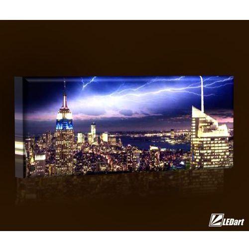 Gdzie Tanio Kupić Ledart Nowy Jork Design Obraz Podświetlany Led