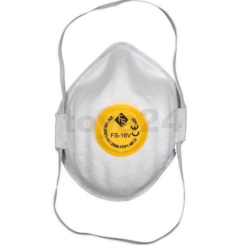 Półmaski filtrujące jednorazowe z zaworem (5szt) / 74541 / VOREL - ZYSKAJ RABAT 30 ZŁ