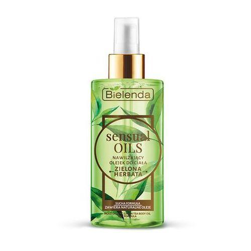Olejek do ciała zielona herbata Sensual Oils 150ml Bielenda (5902169029678)