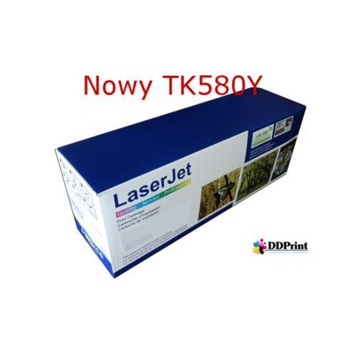 Toner TK580Y - D80Y - zamiennik nowy do Kyocera FS-C5150DN Kyocera Ecosys P6021cdn