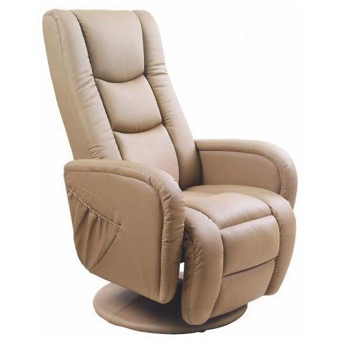 Fotel masujący Litos - beżowy, kolor beżowy