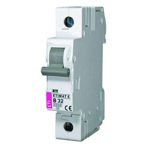 Wyłącznik nadprądowy 1P B 25A 6kA AC ETIMAT 6 002111518 ETI-POLAM