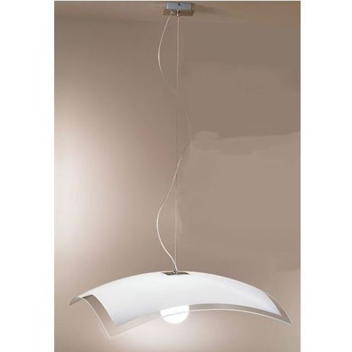 lampa wisząca MILLE biały- nikiel 600 1 x E27 ŻARÓWKA LED GRATIS!, LINEA LIGHT 1018