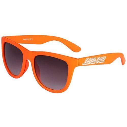 Santa cruz Okulary słoneczne - classic strip sunglasses coral (coral) rozmiar: os