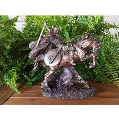 Walczący konny wojownik wikingów (wu71104a4) marki Veronese