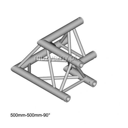 DuraTruss DT 33 C21-L90 90° Corner 50cm element konstrukcji aluminiowej - narożnik