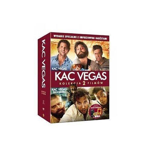 DVD 2 PACK KAC VEGAS/KAC VEGAS 2- IMPREZOWY PAKIET Z GADŻETAMI GALAPAGOS Films 7321910311455, kup u jednego z partnerów
