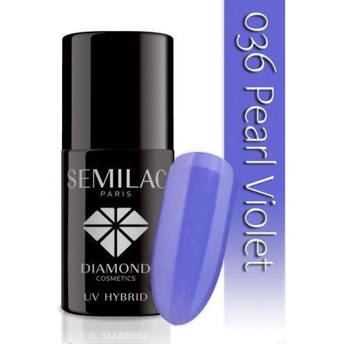SEMILAC UV Hybrid lakier hybrydowy 036 Pearl Violet 7ml (5901867973382)