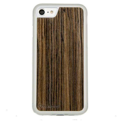 Case iphone 7 oliwka afrykańska przezroczysty vibe marki Bewood