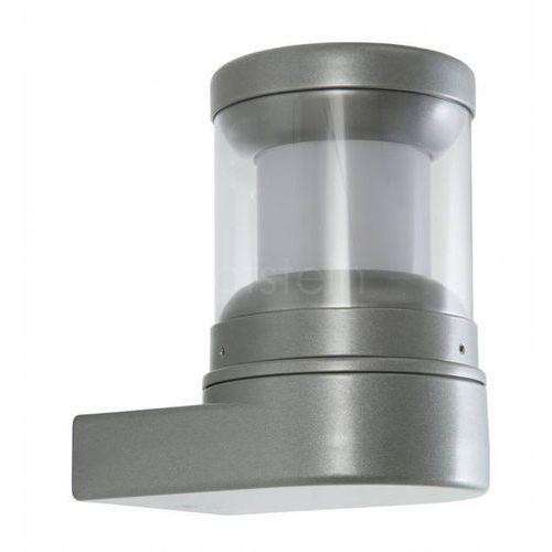 Lcd zewnętrzny kinkiet srebrny, 1-punktowy - nowoczesny - obszar zewnętrzny - lcd - czas dostawy: od 3-6 dni roboczych (8033239478953)