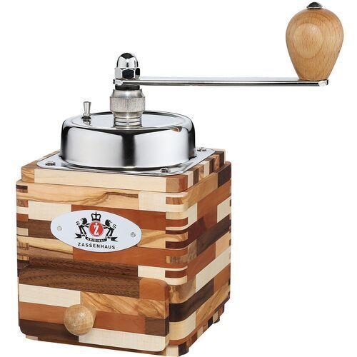 Młynek do kawy drewniany z korbką Zassenhaus Montevideo (ZS-040258) (4006528040258)